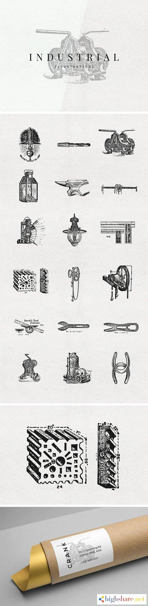 18 industrial vector illustrations set ai eps png 5f40c8a6585aa - 18 Industrial Vector Illustrations Set [Ai/EPS/PNG]