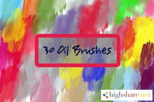 30 oil brushes 5f4a0eafd5ed4 - 30 Oil Brushes