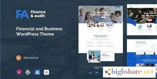 Famulus Finance WordPress Theme v1.1.0