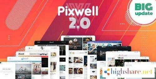 Pixwell - Modern Magazine WordPress Theme v5.3(Last Updated)