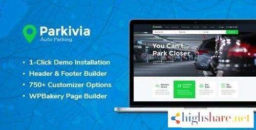 Parkivia Auto Parking & Car Maintenance WordPress Theme v1.1.2