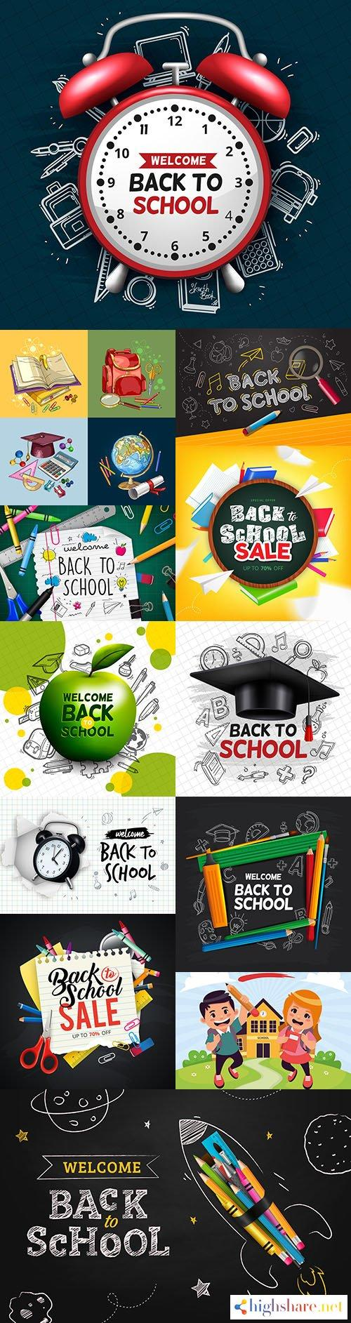 back to school and accessories collection illustration 40 5f3fffb3cd441 - Back to school and accessories collection illustration 40