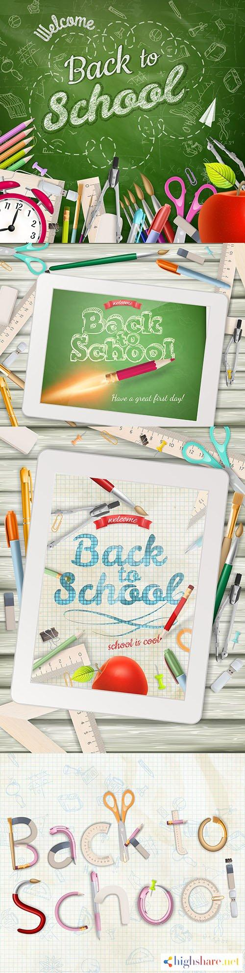 back to school and accessories collection illustration 42 5f4000a6e10a4 - Back to school and accessories collection illustration 42