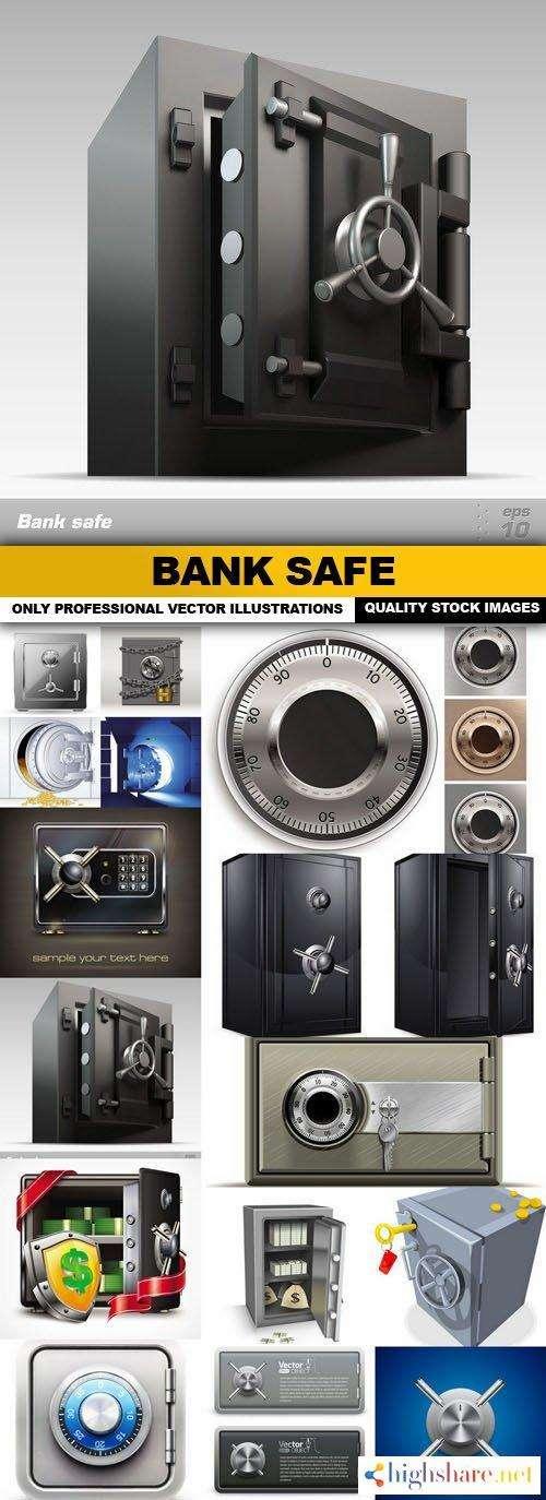 bank safe 15 vector 5f4214b19a607 - Bank Safe - 15 Vector
