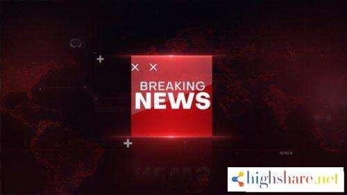 breaking news intro 26759245 videohive 5f477944b68d7 - Breaking news Intro 26759245 Videohive