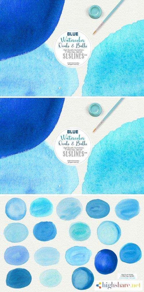 cm blue balls ovals watercolor shapes clipart 3874628 5f4a04f38bcae - CM - Blue Balls & Ovals Watercolor Shapes Clipart 3874628
