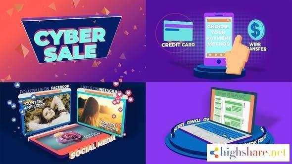 cyber hot sale 28169015 videohive 5f4b43896962a - Cyber Hot Sale 28169015 Videohive
