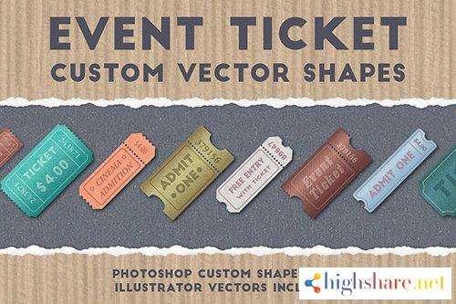 event ticket custom vector shapes 5f4a068a93d1f - Event Ticket Custom Vector Shapes