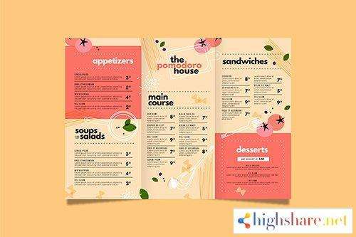 food menu template design 5f41ff35bdc6d - Food menu template design
