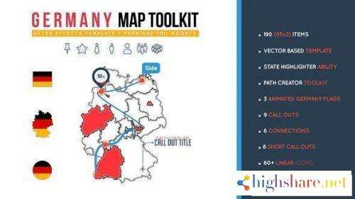 germany map toolkit 26473731 videohive 5f479ada6677e - Germany Map Toolkit 26473731 Videohive
