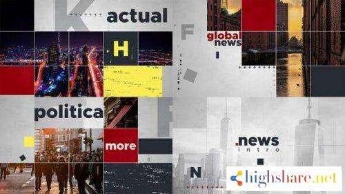 global news intro 24985905 videohive 5f4779795ac88 - Global News Intro 24985905 Videohive