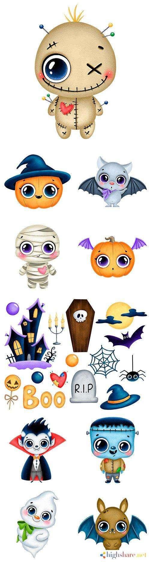halloween holiday illustration cute cartoon character 5f452f73b55c2 - Halloween holiday illustration cute cartoon character