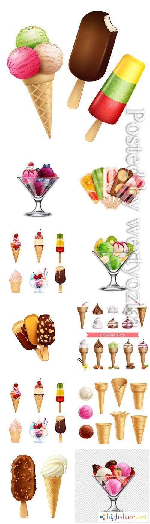 ice cream platter chocolate and vanilla ice cream with berries in vector 5f420112c4cee - Ice cream platter, chocolate and vanilla ice cream with berries in vector
