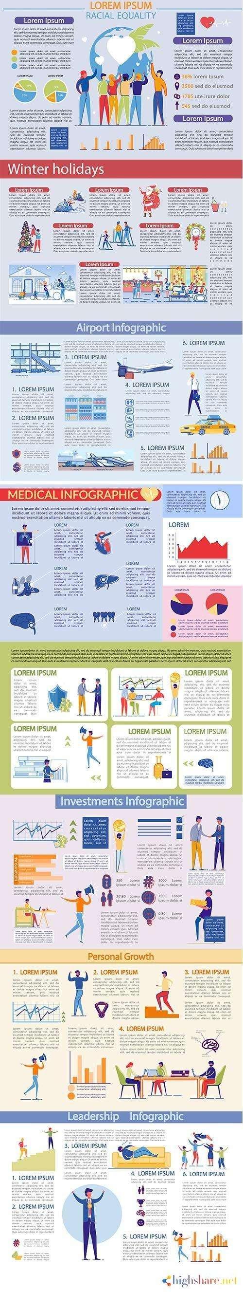 infographics template set 5f41d63a9d2b2 - Infographics Template Set