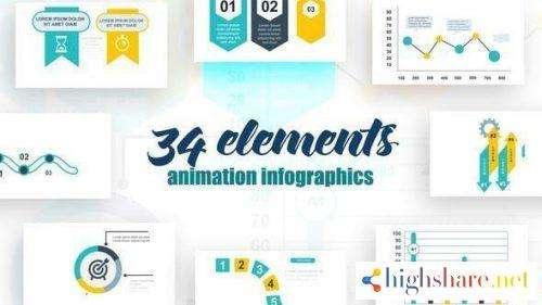infographics vol 16 25615690 videohive 5f479b3b97e30 - Infographics vol.16 25615690 Videohive