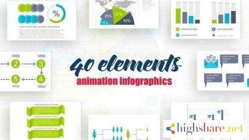 infographics vol 18 25645499 videohive 5f479b489830b - Infographics Vol.18 25645499 Videohive