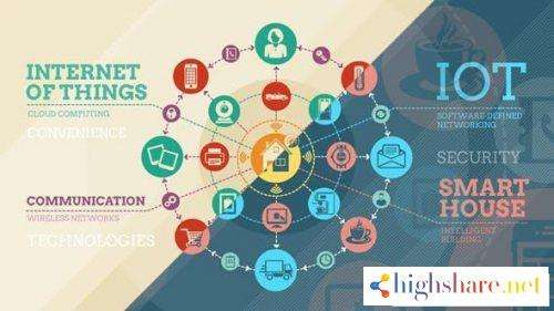 internet of things and smart home infographics 14450063 videohive 5f479b1de530a - Internet Of Things And Smart Home Infographics 14450063 Videohive