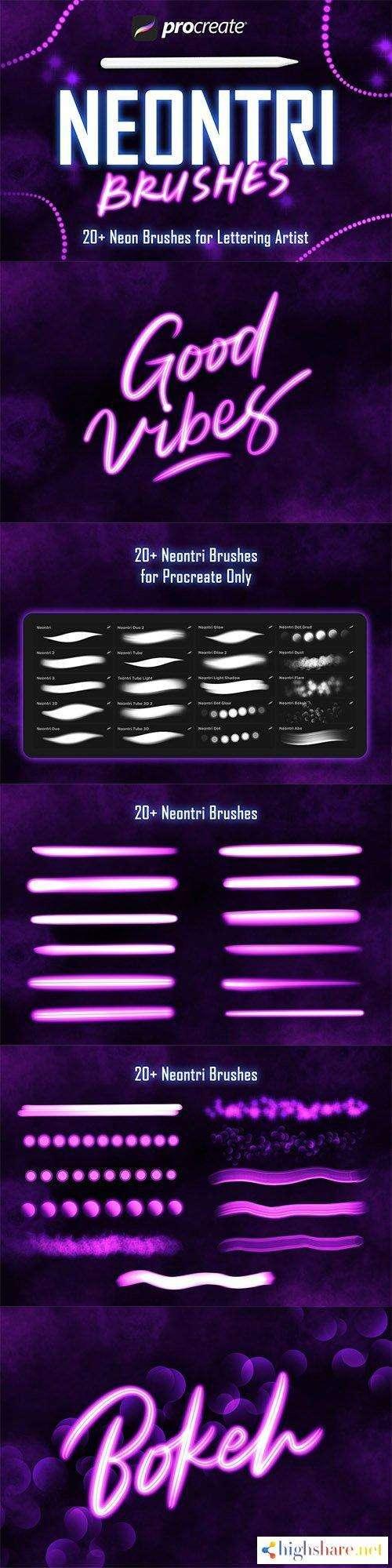 neontri brushes procreate brush 5f4a0e8876b58 - Neontri Brushes - Procreate Brush
