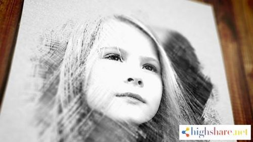 pencil drawing 18403996 videohive 5f3b849755d60 - Pencil Drawing 18403996 Videohive