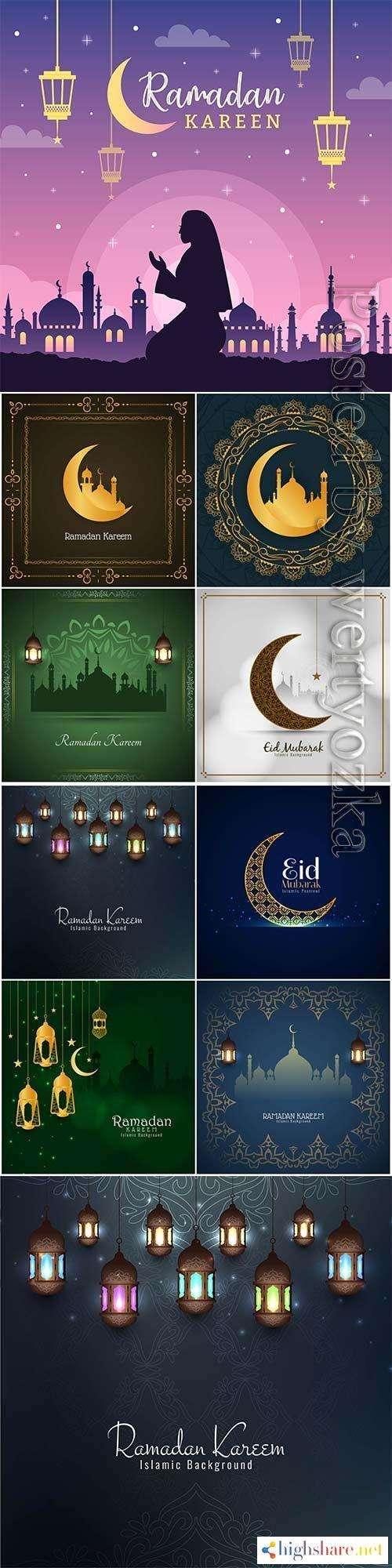 ramadan design vector background 5f438307c3a94 - Ramadan design vector background