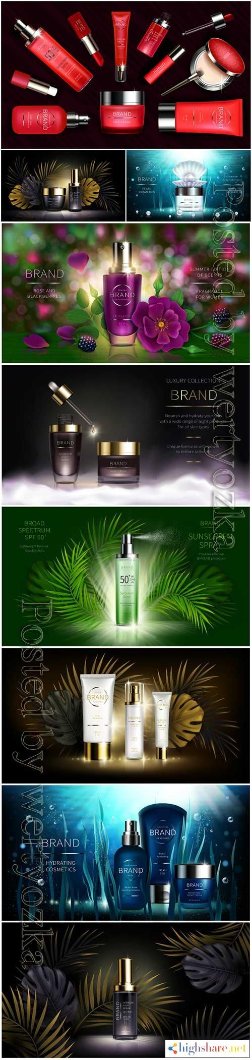 skin care cosmetics vector illustration 5f3ffc5a0c2fa - Skin care cosmetics, vector illustration
