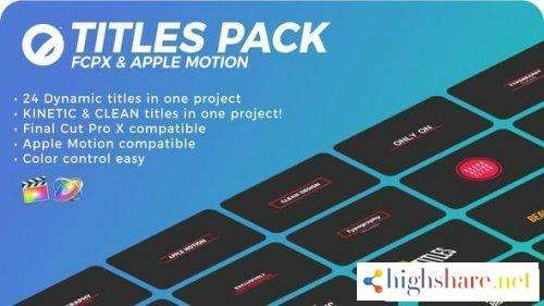 titles pack fcpx or apple motion 5f47440a58bb1 - Titles Pack | FCPX or Apple Motion