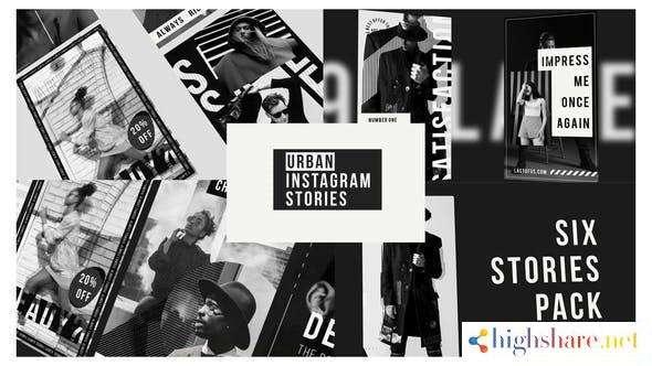 urban stories instagram black 28198806 videohive 5f4b447dd0efa - Urban Stories Instagram Black 28198806 Videohive