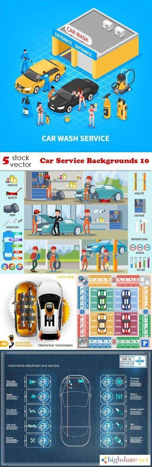vectors car service backgrounds 10 5f4655a9078a4 - Vectors - Car Service Backgrounds 10