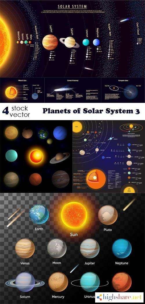 vectors planets of solar system 3 5f42023b8d86c - Vectors - Planets of Solar System 3