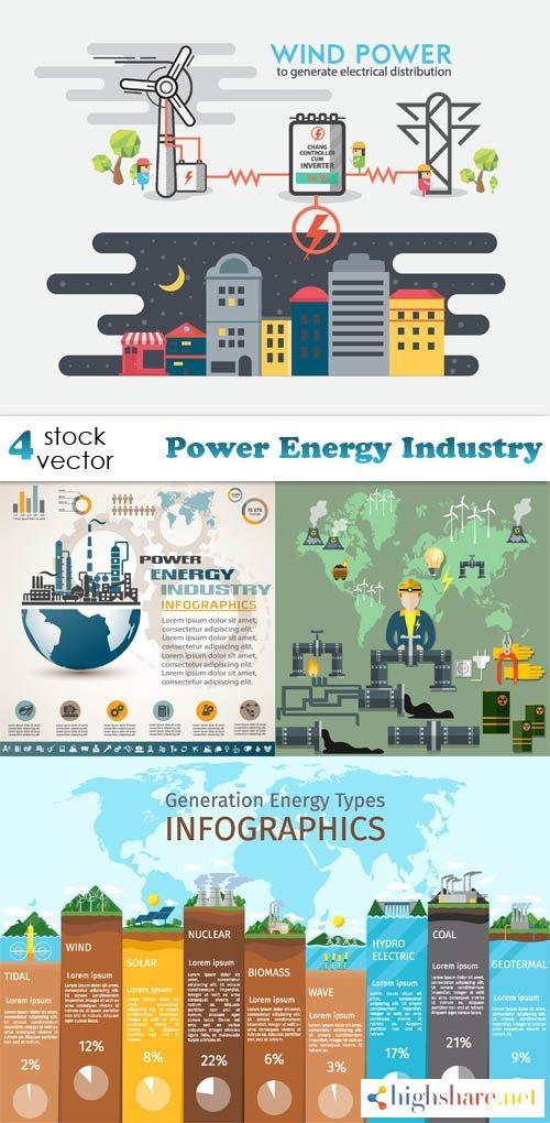 vectors power energy industry 5f40c95652156 - Vectors - Power Energy Industry