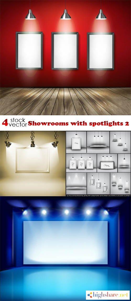 vectors showrooms with spotlights 2 5f3fba3f7a2bc - Vectors - Showrooms with spotlights 2