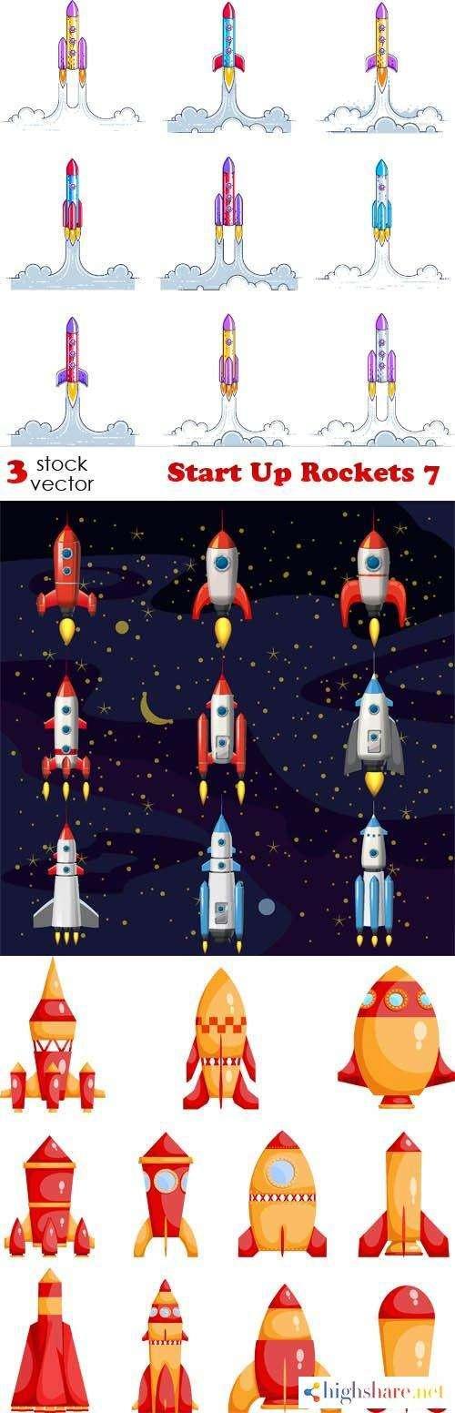 vectors start up rockets 7 5f421b99145d4 - Vectors - Start Up Rockets 7