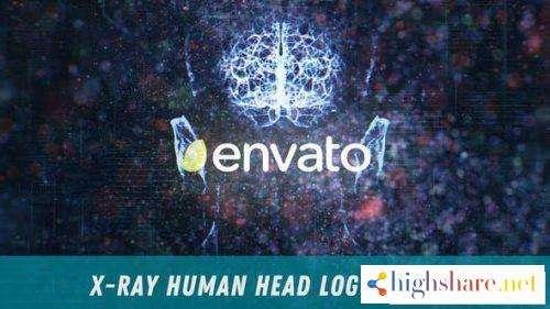 x ray human head logo reveal 28195671 videohive 5f47961b6a430 - X-Ray Human Head Logo Reveal 28195671 Videohive