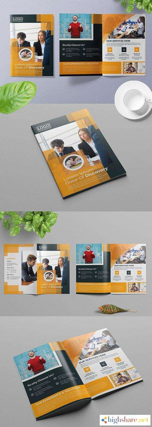 bifold business brochure layout with orange accents 309429040 5f5d930072811 - Bifold Business Brochure Layout with Orange Accents 309429040