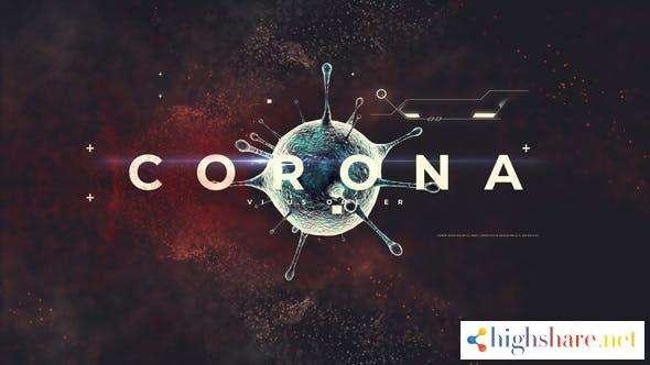 corona virus opener 26002253 videohive 5f9bad75e82fc - Corona Virus Opener 26002253 Videohive