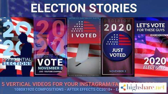 presidential election stories 29106927 videohive 5f990a4d03917 - Presidential Election Stories 29106927 Videohive