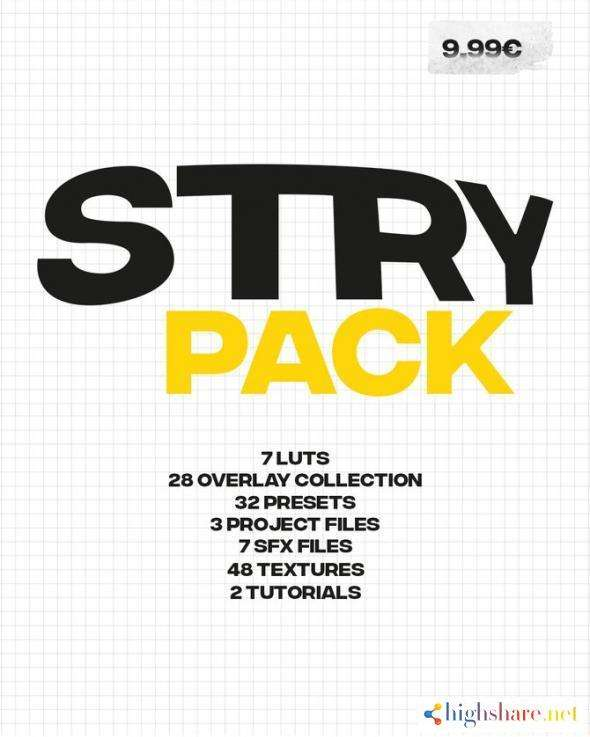 stry editing pack 5f98f9597205d - STRY Editing Pack