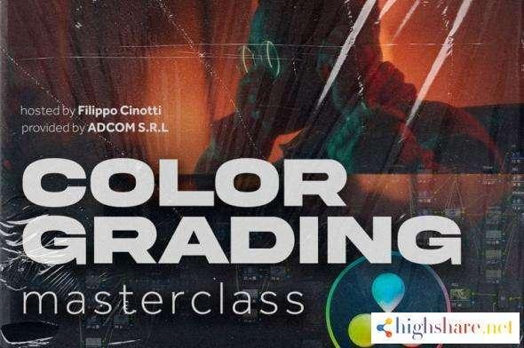 color grading master class course filippo cinotti 600d04a94c6ec - Color Grading Master Class Course - Filippo Cinotti
