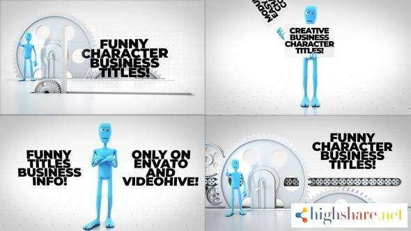 funny character titles bundle 29418477 videohive 600e3687efbb3 - Funny Character Titles Bundle 29418477 Videohive