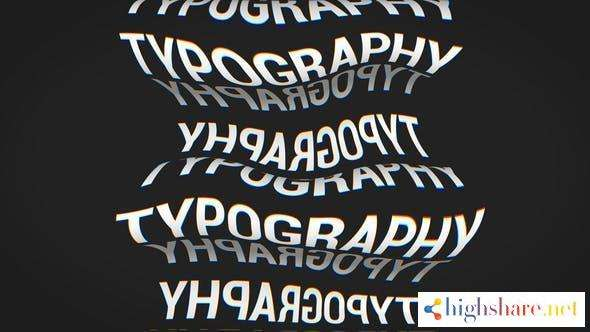 chaotic typography 30205314 videohive 602a0d6e8664a - Chaotic Typography 30205314 Videohive