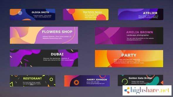 colorful modern titles after effects 30409476 videohive 602f52d153efd - Colorful Modern Titles || After Effects 30409476 Videohive