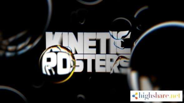 kinetic posters 30128376 videohive 602f52fa4a5e5 - Kinetic Posters 30128376 Videohive