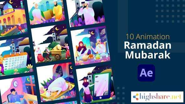 ramadan mubarak animation after effects 31361722 videohive 6062b71275fd4 - Ramadan Mubarak Animation | After Effects 31361722 Videohive
