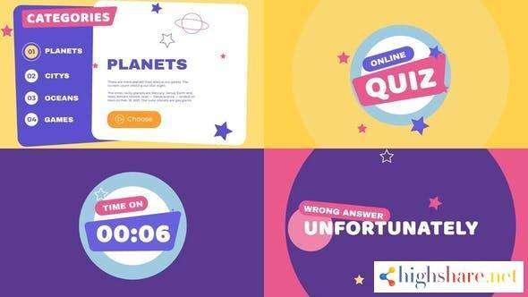 kids quiz presentation 31678167 videohive 6084fdebb0fc3 - Kids Quiz Presentation 31678167 Videohive
