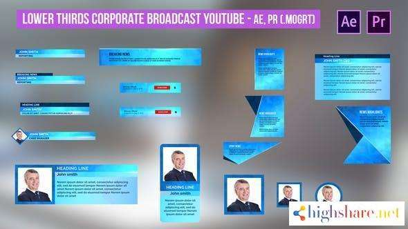 lower thirds corporate broadcast youtube ae pr 31482376 videohive 606fe649af505 - Lower Thirds Corporate Broadcast YouTube AE, PR 31482376 Videohive