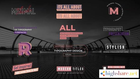 minimal lower thirds titles 31832346 videohive 60a4a1ec59451 - Minimal Lower thirds titles 31832346 Videohive
