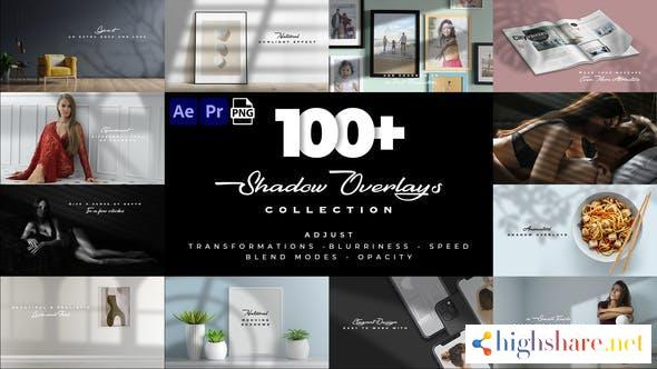 realistic shadow overlays collection 32076650 videohive 60a744edb998d - Realistic Shadow Overlays Collection 32076650 Videohive