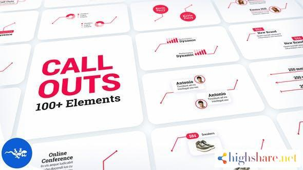 call out titles pack 32628847 videohive 60e68ced23fba - Call-Out Titles Pack 32628847 Videohive