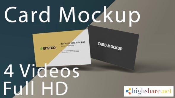 card mockup 33114299 videohive 6100eaedd2913 - Card Mockup 33114299 Videohive