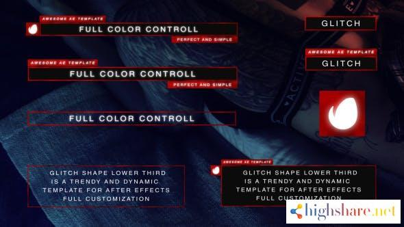 glitch shape lower third 20332790 videohive 60f3bc1402d37 - Glitch Shape Lower Third 20332790 Videohive